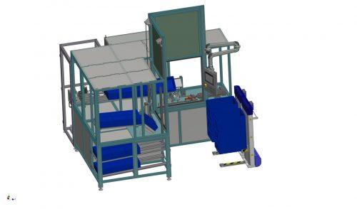 Montageanlage für Getriebemotoren