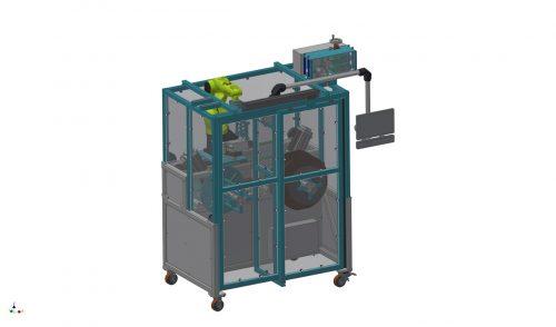 Roboterwickelautomat für Gummiprofile